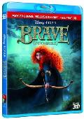 BRAVE (INDOMABLE) (COMBO BLU-RAY 3D + 2D)