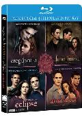 Comprar PACK CREPUSCULO + LUNA NUEVA + ECLIPSE + AMANECER PARTE I (BLU-RA