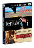 Comprar PACK TRIPLE ACCION: EL MARIACHI + DESPERADO + EL MEXICANO (ONCE U