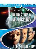 Comprar PACK ULTIMATUM A LA TIERRA (2008) + INDEPENDENCE DAY (BLU-RAY)