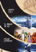 Comprar ACK SELECCION FAMILIAR: HAPPY FEET + EL MAGO DE OZ + POLAR EXPRE